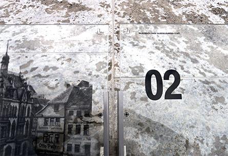 """Lesepult"" – Kunst am Bau Nikolaiplatz Nordhausen"